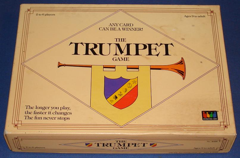 The Trumpet Board Game Box