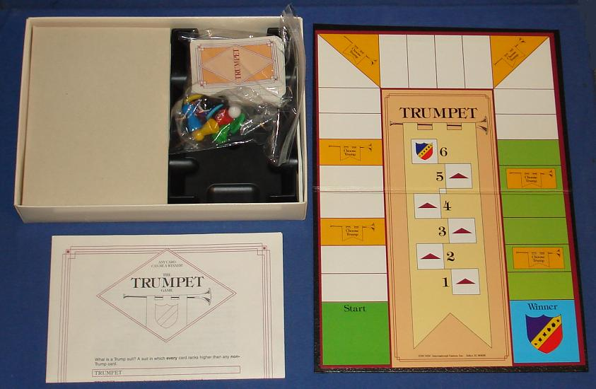 The Trumpet Board Game Contents