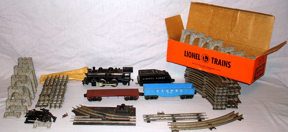 Vintage Lionel 027 Gauge Model Train Collection