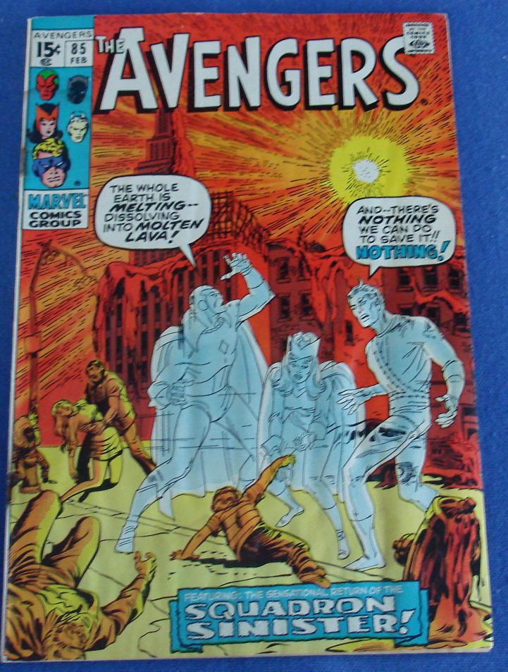 Marvel Comic Books Avengers Issue 85