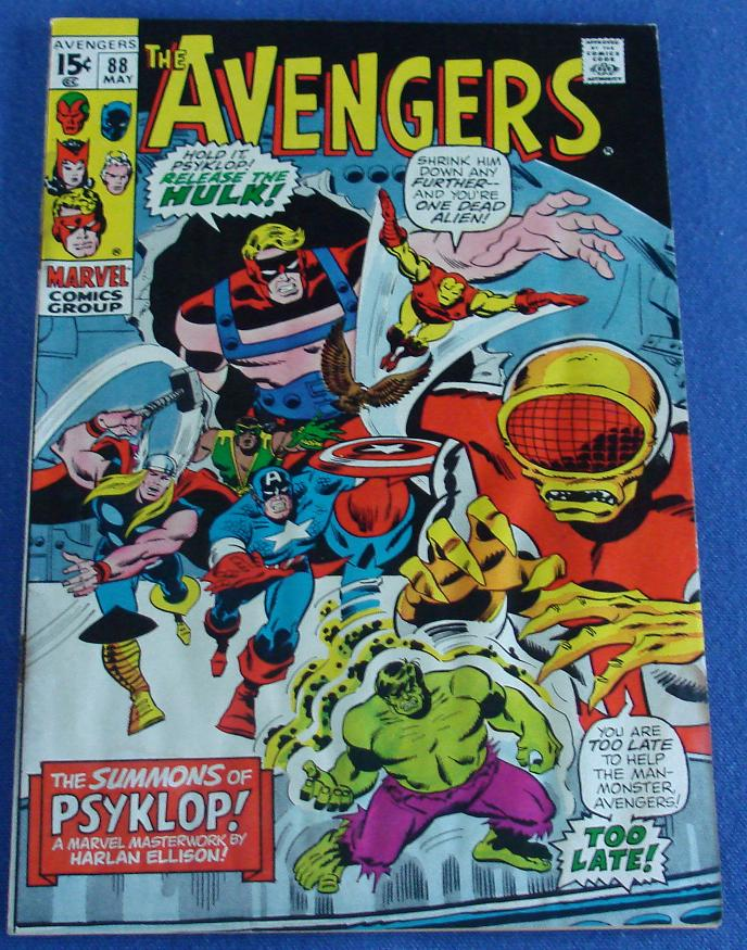Marvel Comic Books Avengers Issue 88