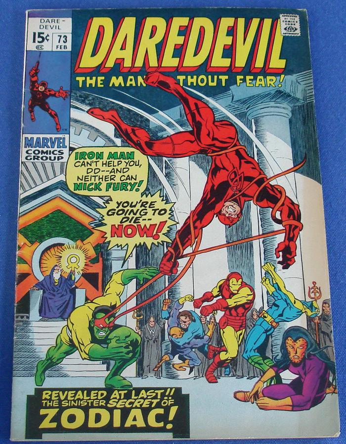 Marvel Comic Books Daredevil The Man Without Fear Issue 73