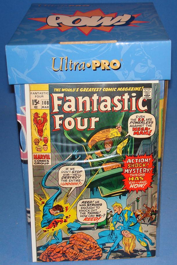Marvel Comic Books Fantastic Four Issue 108