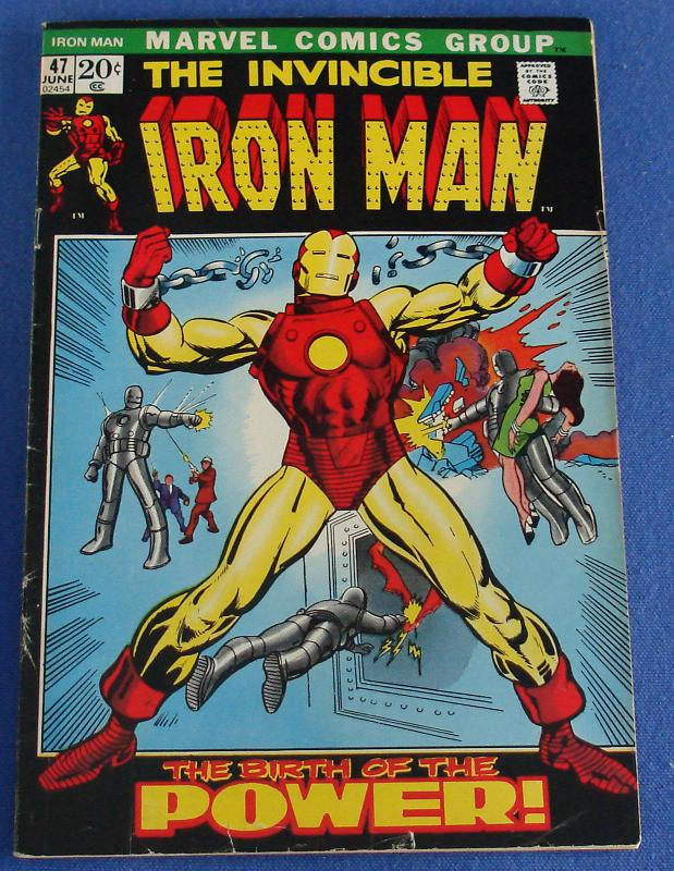 Marvel Comic Books Invincible Iron Man Issue 47