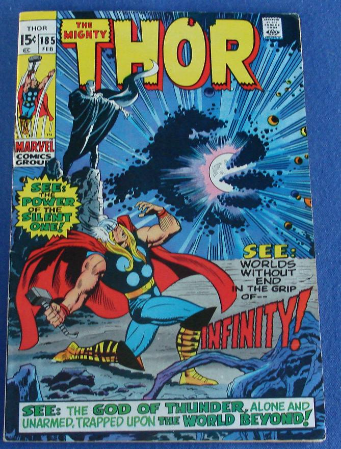 Marvel Comic Books Mighty Thor Issue 185
