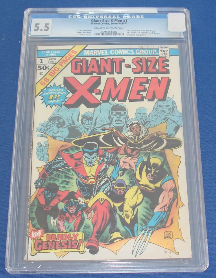 Marvel Comic Books X-Men Giant Sized Issue 1