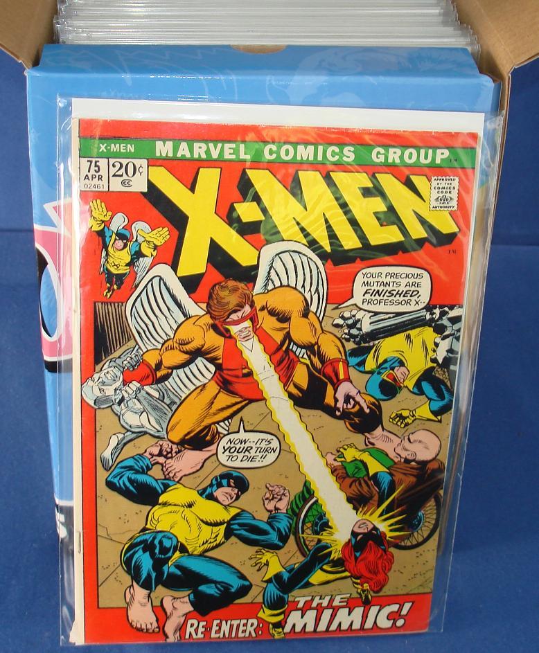 Marvel Comic Books  X-Men Issue 75