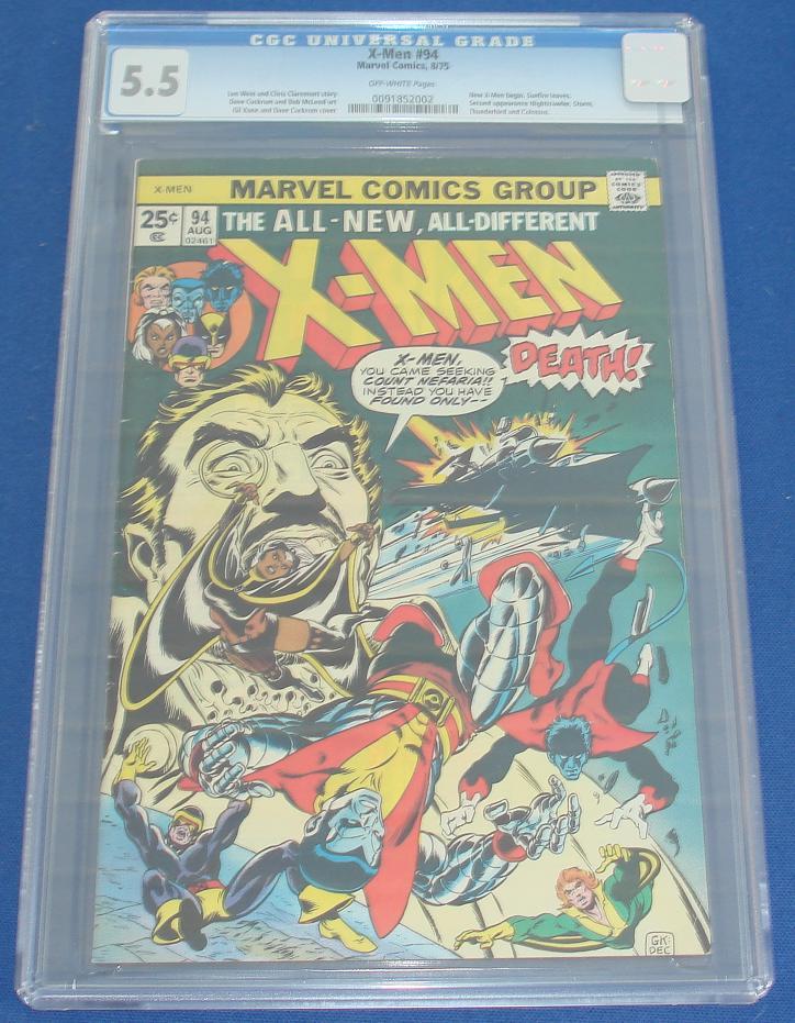 Marvel Comic Books  X-Men Issue 94