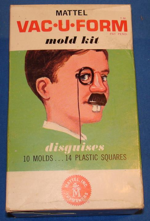 Mattel MIB Vacuform Disguises Model Kit 430