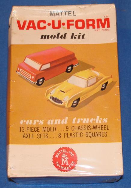 Mattel MIB Vacuform Cars And Trucks Model Kit 433