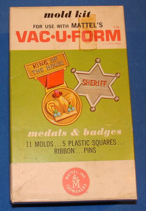 Mattel MIB Vacuform Medals & Badges Model Kit 438