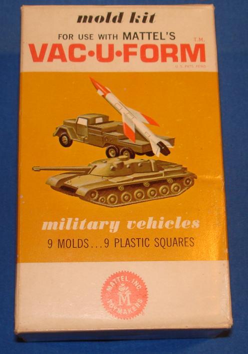 Mattel MIB Vacuform Military Vehicles Model Kit 439