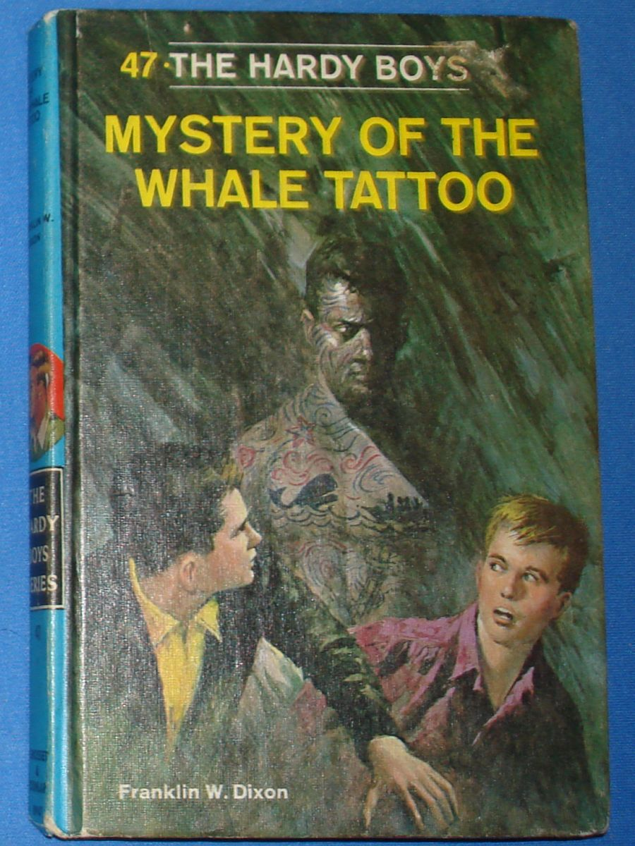 Vintage The Hardy Boys Series Mystery Of The Whale Tattoo Franklin W Dixon #8947 Grosset & Dunlap