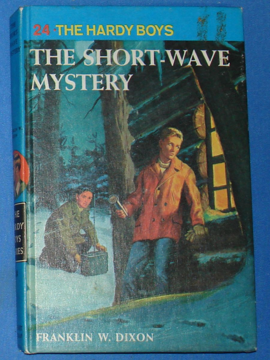 Vintage The Hardy Boys Series The Short-Wave Mystery Franklin W Dixon #8924 Grosset & Dunlap